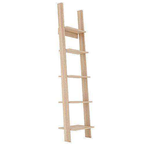 GLmeble – Estructura de escalera para libros, un excelente objeto decorativo y espacio de almacenamiento funcional