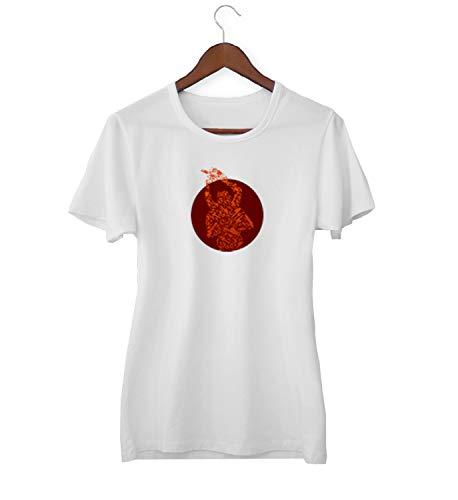 Texas kettingzaag bloedbad Crazy Attack_KK018265 shirt T-shirt voor vrouwen - wit