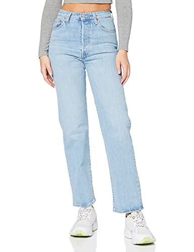 Levi s Ribcage Straight Ankle Jeans, Tango Gossip, 2729 para Mujer