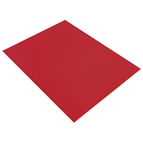 Rayher 3394218 Crepla Platte, 20x30x0,2cm, rot