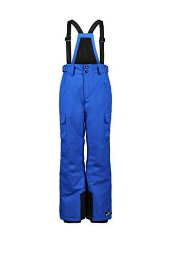 Killtec Jungen Maddock Jr Funktionshose Mit Abzippbarem Latz, Schneefang Und Kantenschutz, neon Blue, 152