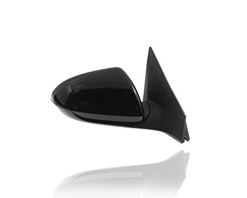Door Mirror - PACIFIC BEST INC. For/Fit 17-20 Hyundai Elantra Sedan SE (USA-Built) Manual Folding, Electric, Non-Heated, Without Signal + Memory + Blind Spot, Primed Right Hand - Passenger 87620F3050