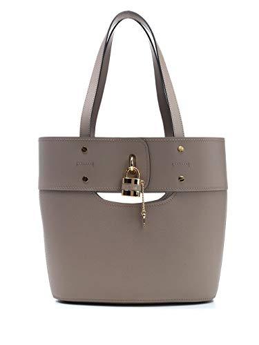 Luxury Fashion | Chloé Dames CHC20SS222C4423W Roze Leer Handtassen | Lente-zomer 20