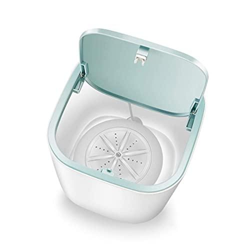 Mini Lavadora Portátil Mini Lavadora Deshidratación Doméstica Automática Mini Lavadora 3-5 Kg Lavado Y Secado Cuidado Y Limpieza De Ropa Interior (Color: Blanco) A