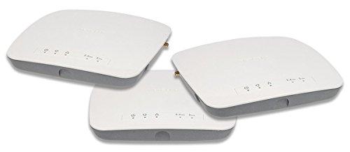 Netgear WAC720B03-10000S - Pack de 3 Puntos de Acceso WAC720 ProSAFE Profesional (2 x 2 Wireless-AC y garantía Durante su Vida útil), Color Blanco