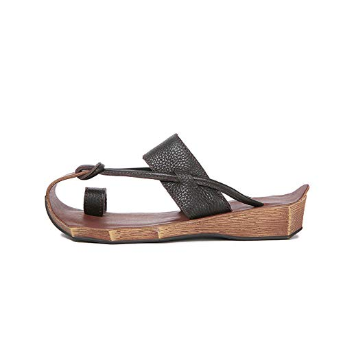 Sandalias Y Zapatillas De Mujer Literarias Retro Hechas A Mano Chanclas De Playa Chanclas De Cuero Sandalias De Cuero Mujer