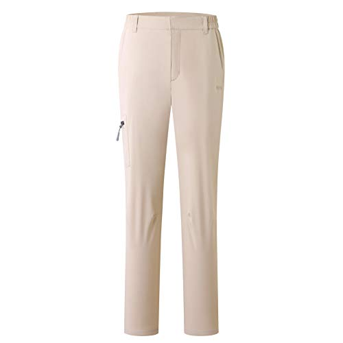 Eono Essentials  pantaloni da donna, khaki, XL