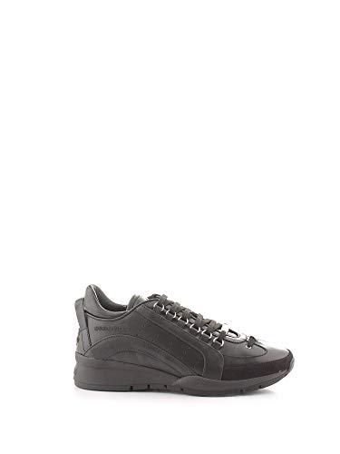 DSQUARED2 Luxury Fashion Herren SNM0505065B0001M084 Schwarz Leder Sneakers | Herbst Winter 20