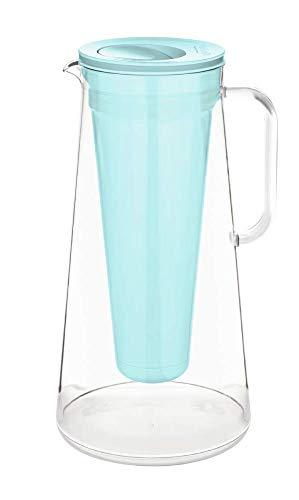 LifeStraw Unisex-Adult Home Filter Pitcher, Aqua, 10cup