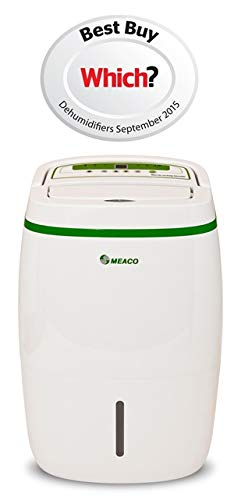 Meaco 20L Low Energy Dehumidifier, ideal for condensation, damp, mould, laundry drying in medium to large homes, WHICH? BEST BUY SINCE 2014