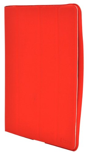 iHome Smart Book Case with Magnetic Panels for iPad 2 - Red (IH-IP1103R)