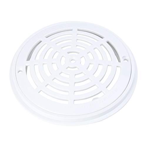 Yardwe Swimming Pools Drain Cover White Anti-Vortex Main Main Drain Suction Cover Plate Replacement
