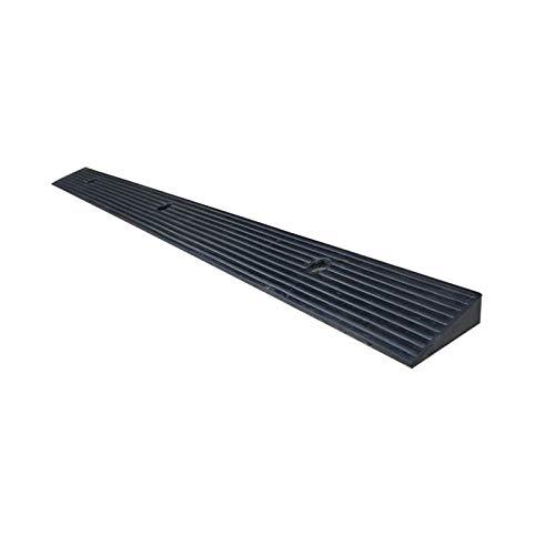 SZQ-Rampas Rampas umbral de interior, antideslizante Slope rampas for sillas de ruedas cojín de goma Negro multifunción , Para rampas para la mayoría de los vehículos ( Size : 98*10*3CM )