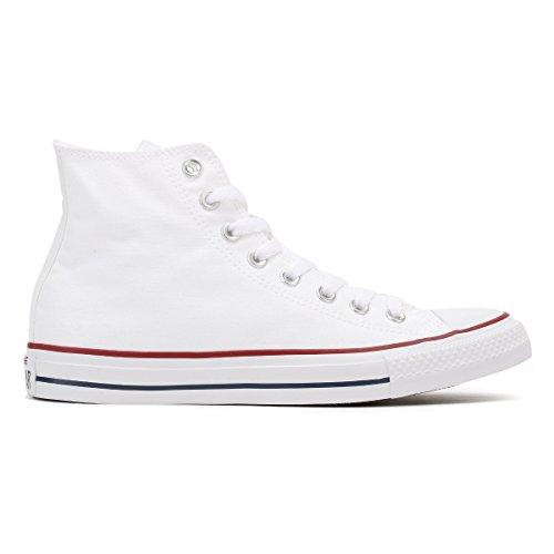 Converse All Star Hi Canvas Zapatillas Blancas Ópticas -UK 6