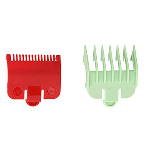 BANGNA 2pcs guía de Corte Profesional Peine Herramienta de peluquería 1.5 mm 3 mm Juego