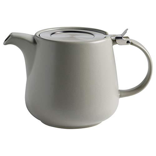 Maxwell & Williams AY0296 Tint Teekanne aus Porzellan, Hellgrau, 1200 ml