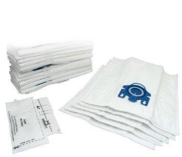Miele GN Staubsaugerbeutel X 15& Filter–Mikrofaser Staubbeutel mit Kunststoff Tasche Rahmen–Auspuff Filter geeignet für S2110,,, S300i, S400, S400I, S5000, S600Und S800Serie Katze und Hund–von RADVAC