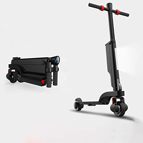 Sale!! Pig Middle I Eletric Commuting Scooter, High Speed Electric Scooter for Adults with 250W Motor & Audio Function, Cruise Control and 4-Step Portable Folding System Kick Scooter for Commute and Travel
