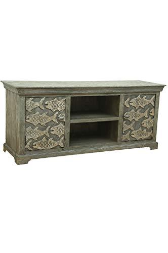 Mueble de televisión oriental Shahin de 150 cm, estilo marroquí, estilo oriental