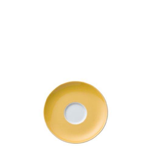 Rosenthal - Thomas - Sunny Day Kaffee-/Tee-Untertasse - Yellow - Gelb Ø 14,5 cm