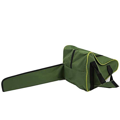 Bolsa de transporte para motosierra de 35 cm, color verde militar, resistente, impermeable, con cadena Oxford, bolsa de almacenamiento protectora para Lumberjack GJB51