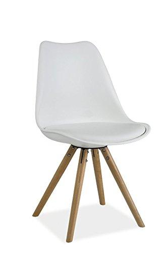 tendencio Chaise scandinave DSW Design Eames Pieds Bois Erie