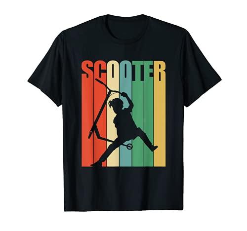 Stunt Scooter Roller Kinder & Jungen T-Shirt