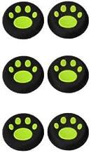 OSTENT 6 x protetores de botão analógicos coloridos compatíveis com controle de Xbox One – cor verde