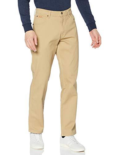 Wrangler Herren Texas Jeans, Sand, 33W / 32L