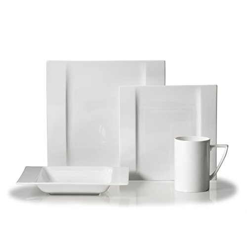 Mikasa Modern White 4 Piece Place Setting