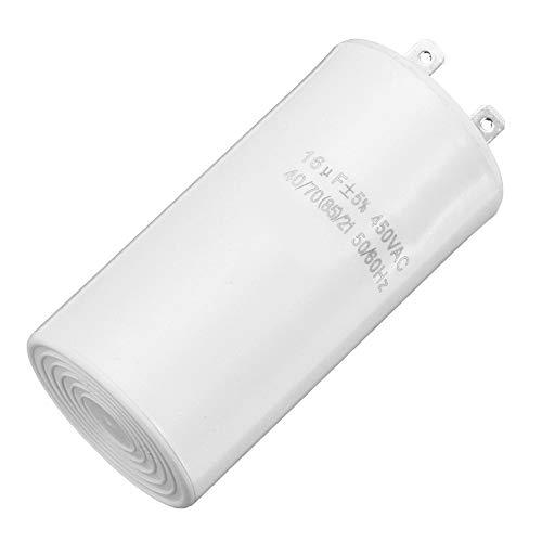 WSF-condensatori, 1pc 400V 450V 500V EN60252 16UF P0 di Funzionamento del Motore Condensatori Filo 450VAC Inizio 2pins Pompa ad Acqua del condizionatore d'Aria a Partire Motore Acceso