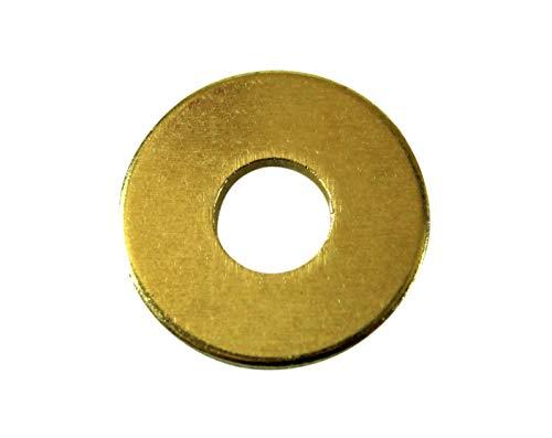 SN-TEC Große Messing Unterlegscheiben M10 10,5mm innen / 29,9mm aussen (20 Stück)
