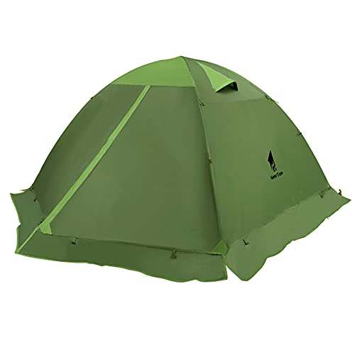 cold weather tents for campings GEERTOP Lightweight Tents for Backpacking Waterproof 3 Person Tent for Camping 4 Season Winter Camp Tent for Outdoor Camp Hiking Hunting Backyard - Portable Easy Setup