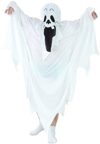 Generique Costume da Fantasma per Bambino - Halloween 4/6 Anni (104/116)