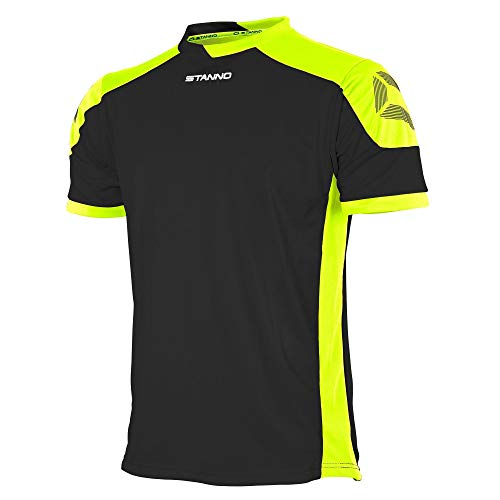 Stanno Campione Trikot K.A. - black-neon yellow, Größe Stanno:S