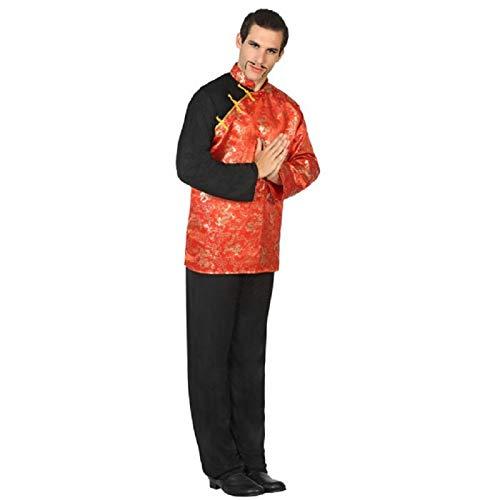 Atosa 17406 – Chińczyki, męski kostium, rozmiar M-L, 50/52
