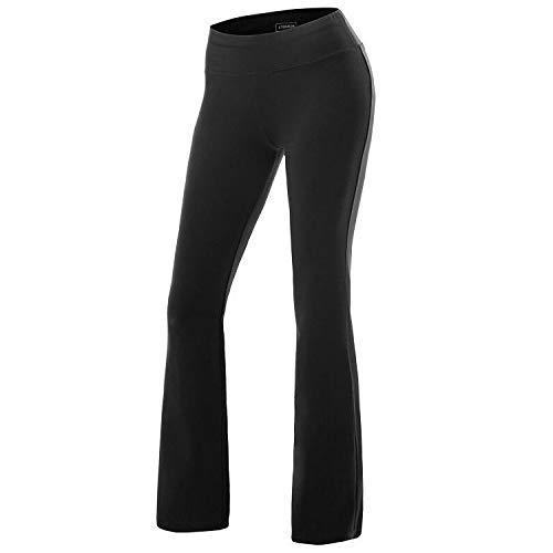ZKOO Mujeres ólido De Las De Color Elástico En La Cintura Lazo Suelto Pierna Pantalones Casual Corredores Gimnasio Corriendo Ejercicios Deporte Al Aire Libre Pantalones L