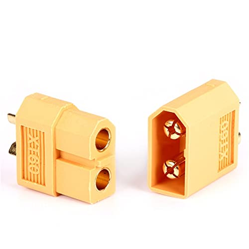 OUYBO New XT60 - Adaptador de enchufe paralelo para batería de polímero de litio, arnés, accesorios para batería (color: As pic)
