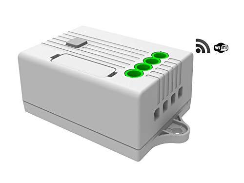 Empfänger & elektronischer Regler für codalux Funkschalter / Lichtschalter / Funktaster, 1-Kanal Empfänger 1,0A 433 MHz dimmen / dimmbar,WiFi, Alexa / Amazon Echo