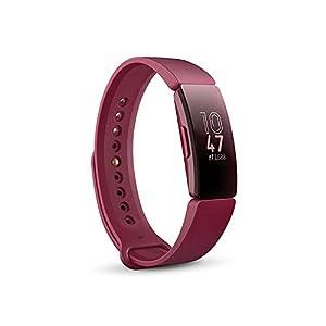 Fitbit Inspire, Pulsera de salud y actividad física, Vino 4
