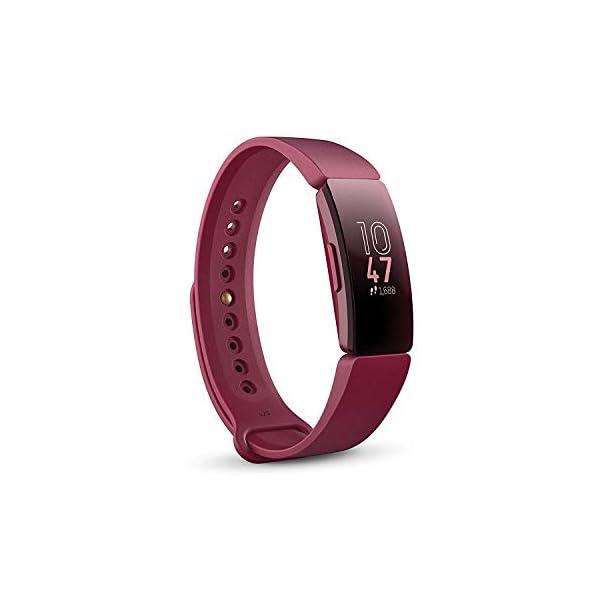 Fitbit Inspire, Pulsera de salud y actividad física, Vino 1