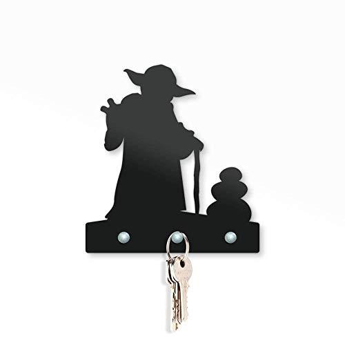 Porta Chaves Mestre Yoda Star Wars - Presente Criativo