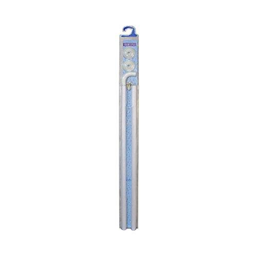 Frandis 110180 douchestang van aluminium, uittrekbaar 110/180 cm, wit