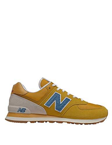 New Balance, Sneakers, 574 SCB, Sportschuhe für Herren, Gelb - gelb - Größe: 45 EU