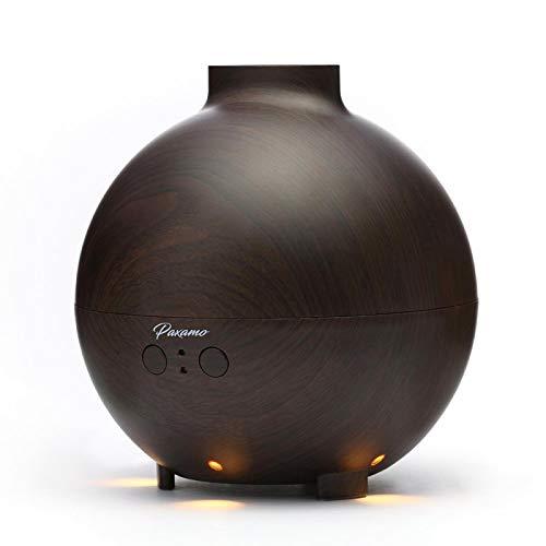 XU Difusor de Aceite Esencial de 600 ml, humidificador de aromaterapia para el hogar/Oficina/Coche, atomizador de aromaterapia de 7 Colores, purificador de Aire 01