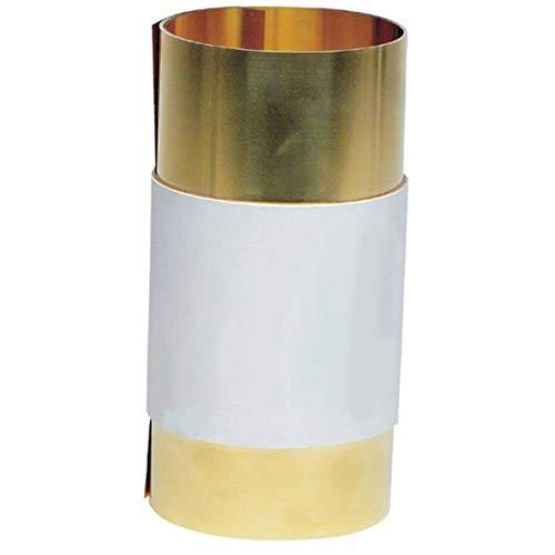 Precision Brand Brass Shim Stock Rolls - 17s3 .003 brass shimstock 1.8mx250cm