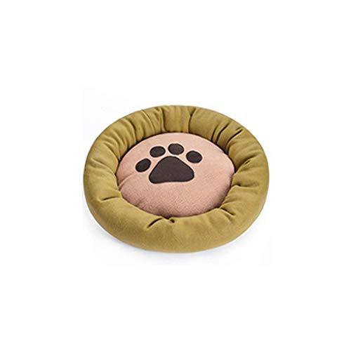 APcjerp Pet Nest Comfortable Sleeping Mats Pet Supplies Mattresses Cat Litter Kennel (Size : 45cm) Hslywan (Size : 45cm)