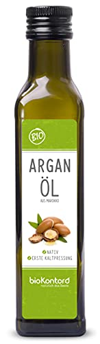 Arganöl BIO 250ml I nativ und kaltgepresst I 100% rein I beste Rohkostqualität von bioKontor
