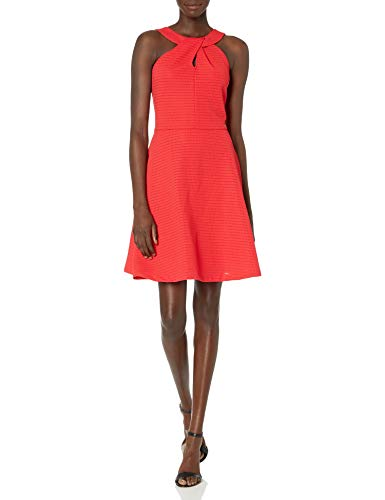 Armani Exchange A|X Damen Cross Collar A-Line Party Dress Legeres Abendkleid, Lollipop, X-Groß