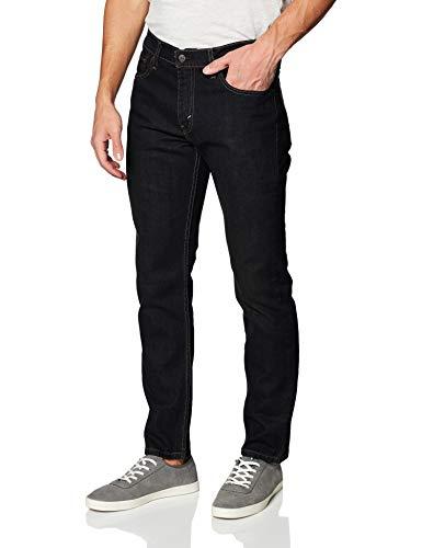 Levi's Men's 511 Slim Fit Jean, Clean Dark - Stretch, 34W x 32L